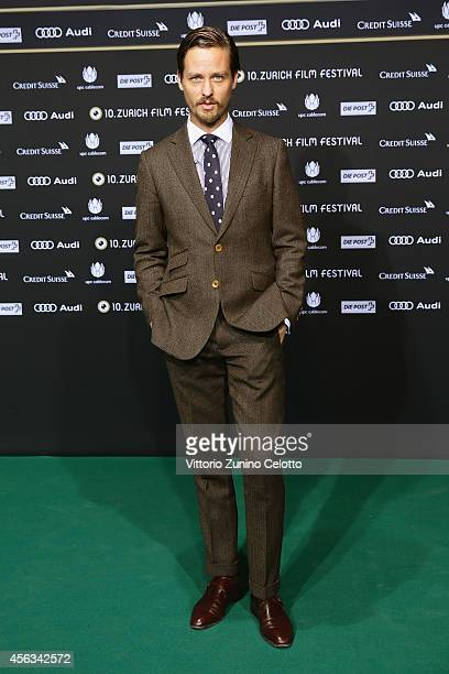 Tom Schilling attends the 'Who am I' Green Carpet Arrivals during Day 5 of Zurich Film Festival 2014 on September 29 2014 in Zurich Switzerland