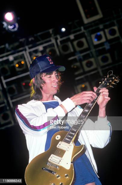 Tom Scholz performing with Boston at the Brendan Byrne Arena in East Rutherford New Jersey on July 3 1987