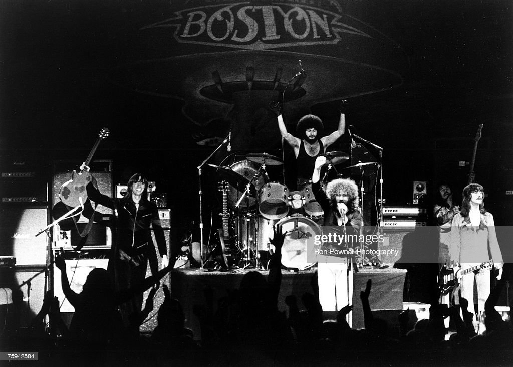 "Rock Group ""Boston"" Performing : News Photo"