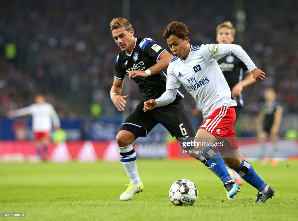 Hamburger SV v DSC Arminia Bielefeld - Second Bundesliga : News Photo