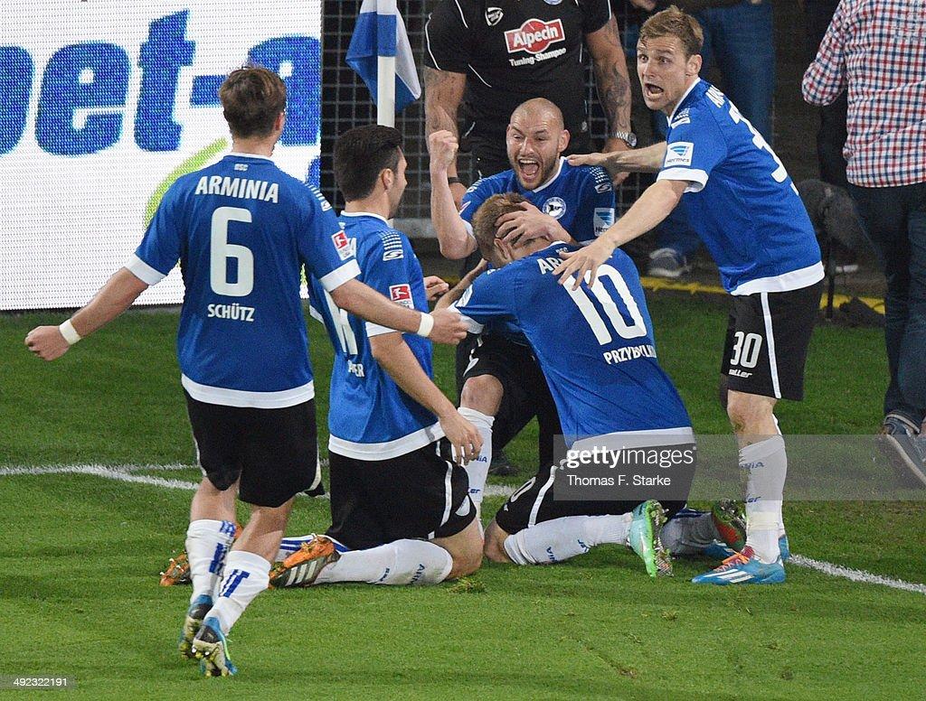 Arminia Bielefeld v Darmstadt 98 - Second Bundesliga Playoff First Leg