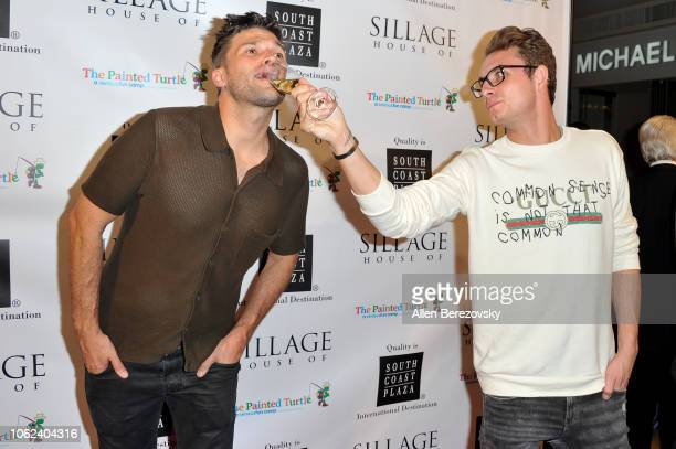 Tom Schwartz and James Kennedy attend the House Of Sillage Holiday Boutique Launch event at House of Sillage on November 01 2018 in Costa Mesa...