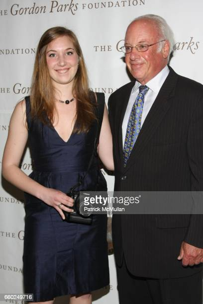 Tom Schwarz and Chiara Marinai attend Celebrating Fashion Gala Awards Dinner to Support The GORDON PARKS Foundation at Gotham Hall on June 2 2009 in...