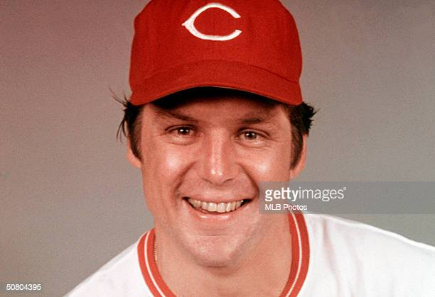 Tom Seaver of the Cincinnati Reds poses for a portrait Seavers played for the Reds from 19771982