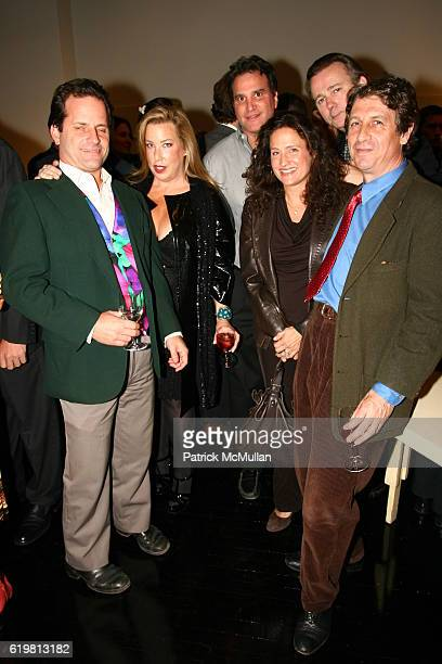 Tom Sellan Lauren Merrill David Friedman Melanie Friedman Steven Robson and Adrian Corbett attend ELLE DECOR Party Hosted By EditorinChief MARGARET...