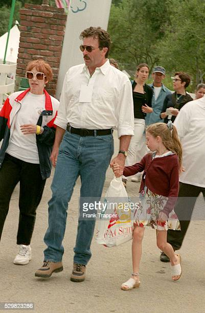 Tom Selleck and his daughter Hannah