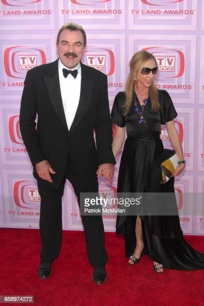 Tom Selleck and Jillie Mack attend 2009 TV LAND AWARDS at Universal Studios on April 19, 2009 in Los Angeles, CA.
