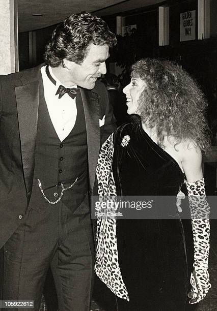 Tom Selleck and Jillie Mack during 41st Annual Golden Globe Awards at The Beverly Hilton Hotel in Beverly Hills, California, United States.