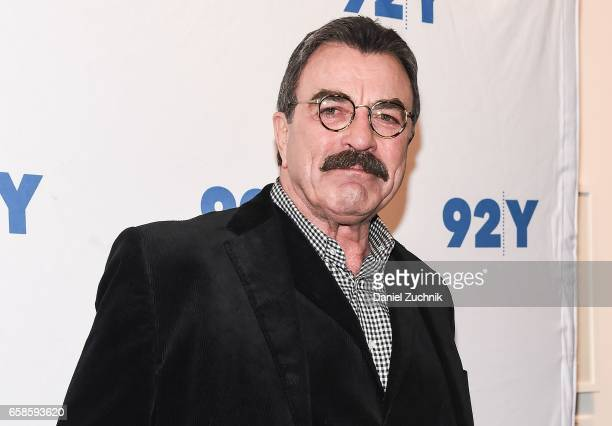 Tom Selleck attends the Blue Bloods 150th episode celebration at 92Y on March 27 2017 in New York City