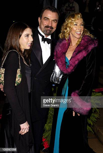 Tom Selleck daugher Hannah and wife Jillie Mack