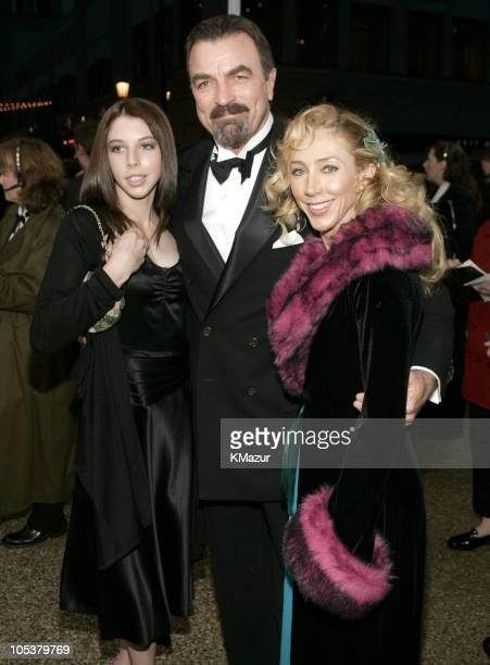 Tom Selleck daughter Hannah and wife Jillie Mack