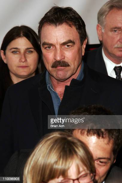 Tom Selleck during 5th Annual Tribeca Film Festival United 93 Premiere at Ziegfield Theatre in New York City New York United States