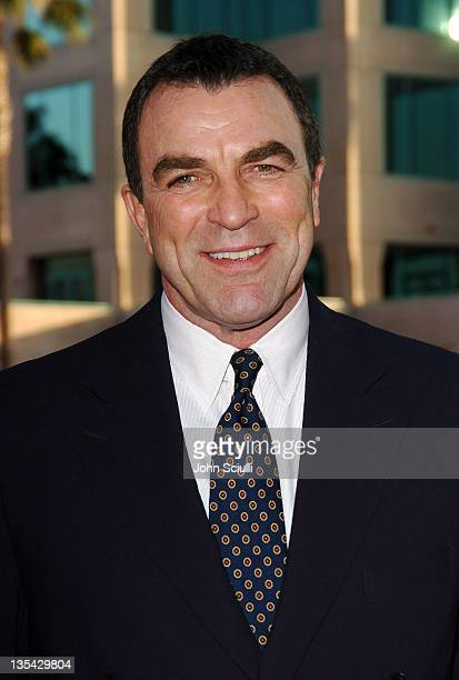 """Tom Selleck during """"Ike: Countdown to D-Day"""" Premiere at Leonard H. Goldenson Theatre in North Hollywood, California, United States."""