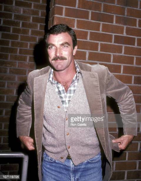 Tom Selleck during Screening of Divorce Wars at Director's Guild in Hollywood California United States