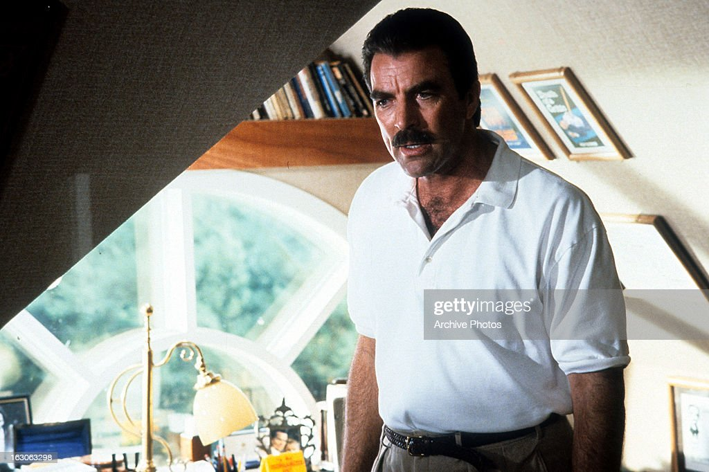 Tom Selleck In A Scene From The Film Her Alibi 1989 News Photo