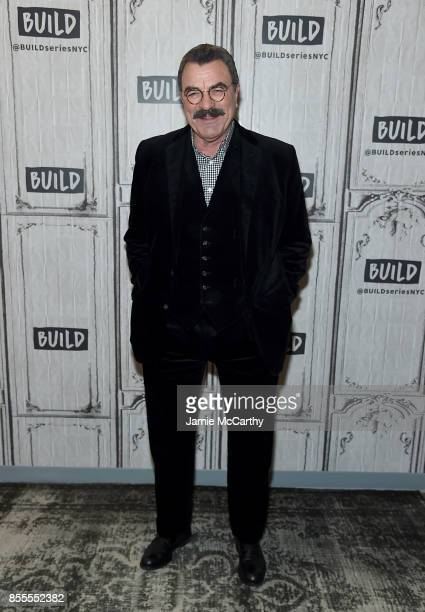 Tom Selleck visits the Build Series to discuss his show Blue Bloods at Build Studio on September 29 2017 in New York City
