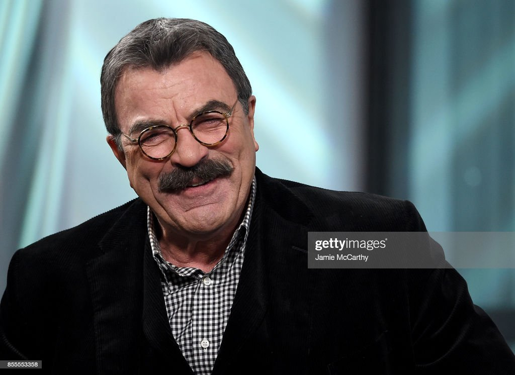 Tom Selleck visits the Build Series to discuss his show 'Blue Bloods at Build Studio on September 29, 2017 in New York City.
