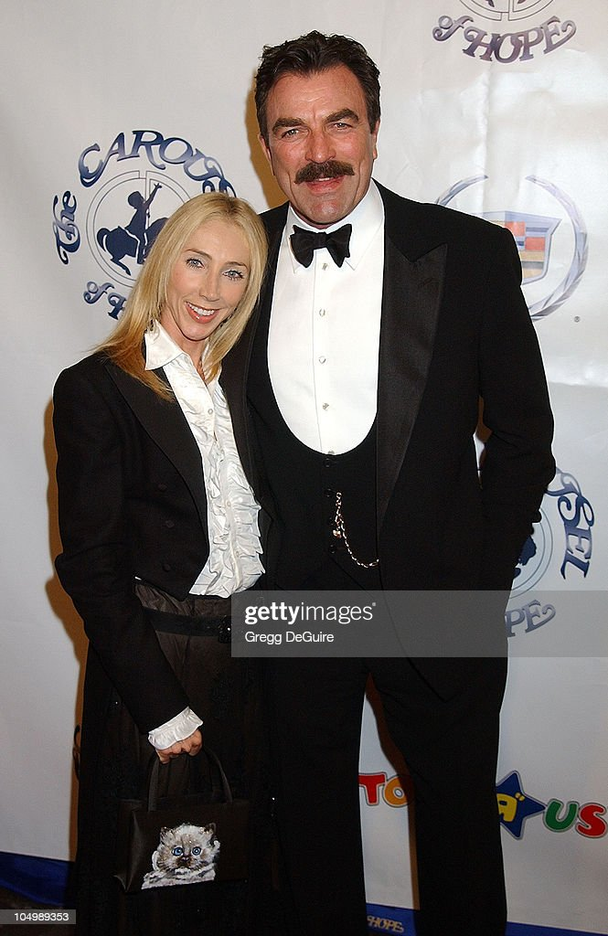 Tom Selleck & wife during The 15th Carousel Of Hope Ball ...