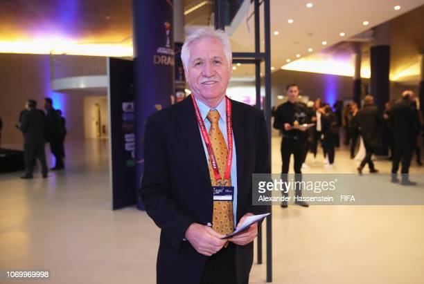 Tom Sermanni coach of New Zealand arrives for the FIFA Women's World Cup France 2019 Draw at La Seine Musicale on December 8 2018 in Paris France