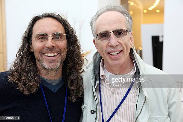 Tom Shadyac and Jerry Zucker attend Science Entertainment Exchange Summit at The Paley Center for Media on February 4 2011 in Beverly Hills California