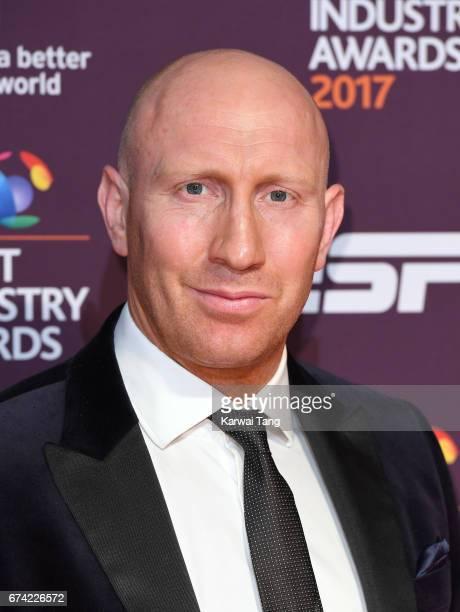 Tom Shanklin attends the BT Sport Industry Awards at Battersea Evolution on April 27 2017 in London England