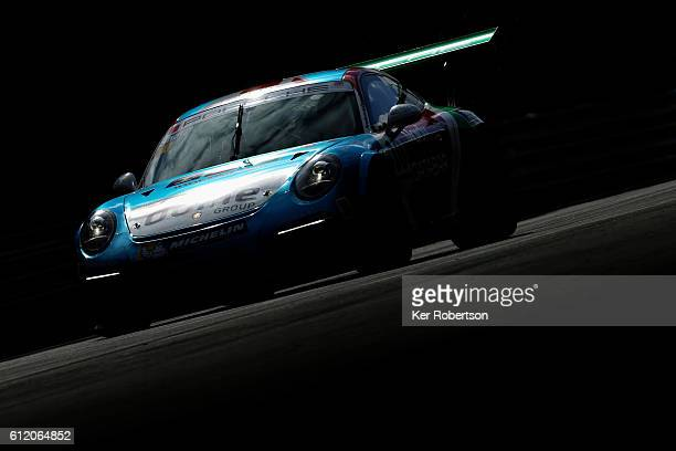 Tom Sharp of IDL Racing drives during the Porsche Carrera Cup at Brands Hatch on October 2 2016 in Longfield England