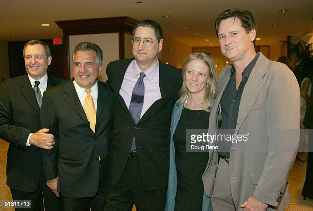 Tom Sherak Jim Gianopulos Tom Rothman Tamara Hurwitz and Bill Pullman pose for a portrait during the The National Multiple Sclerosis Society's 30th...