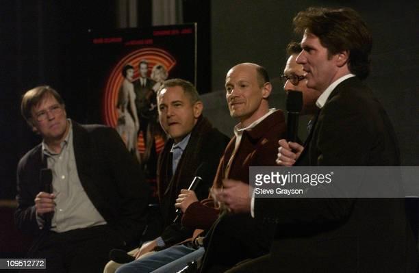 Tom Shore executive producers Craig Zadan and Neil Meron screenwriter Bill Condon and director / choreographer Rob Marshall