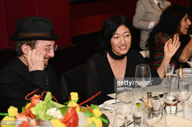 Tom Silverman and Jihae Kim attend an UNBLINDED Dinner Hosted By Jay Abraham Sean Callagy And Shannon O'Donnell on January 11 2020 in Paramus New...