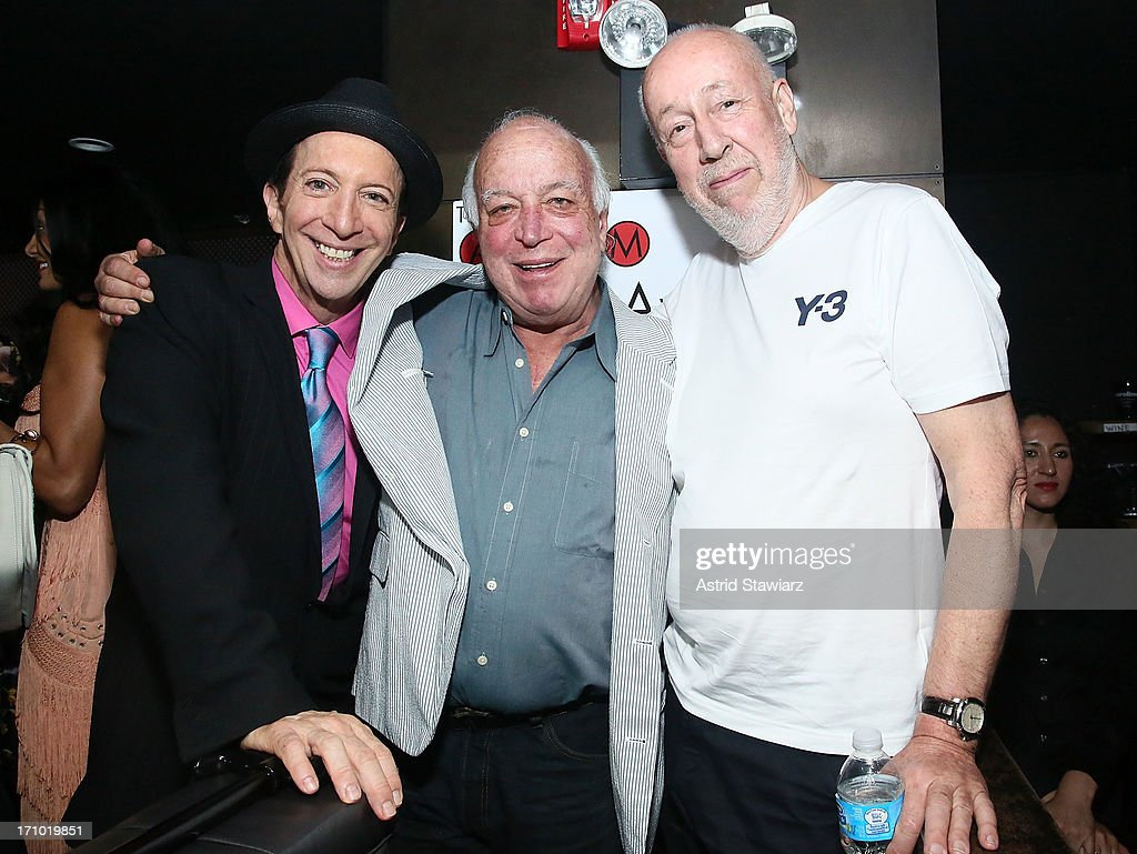 Tom Silverman, Seymour Stein and Martin Mills attend the 2nd Annual Libera Awards at Highline Ballroom on June 20, 2013 in New York City.