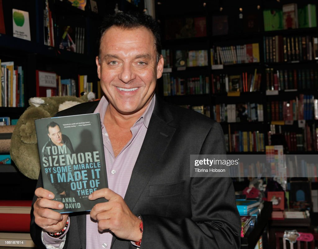 """Tom Sizemore Signs Copies Of His New Book """"By Some Miracle I Made It Out Of There"""""""
