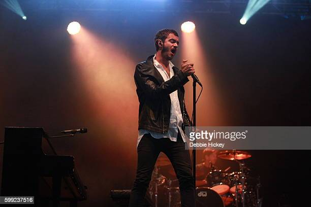 Tom Smith of Editors performs at Electric Picnic Festival at Stradbally Hall Estate on September 4 2016 in Laois Ireland