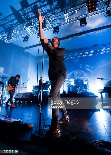 Tom Smith of Editors performs at O2 Academy Birmingham on October 19 2018 in Birmingham England