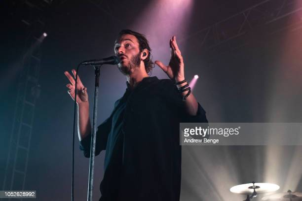 Tom Smith of Editors performs at O2 Academy Leeds on October 20, 2018 in Leeds, England.