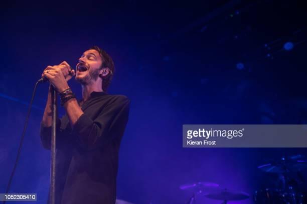Tom Smith of Editors performs at Vicar Street on October 16 2018 in Dublin Ireland