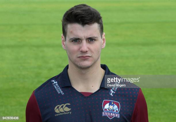 Tom Sole of Northamptonshire County Cricket Club poses for a portrait in their NatWest T20 Blast strip during the photocall held at The County Ground...