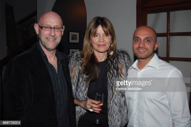 Tom Stanley Selma Cisic and Sam Moradzadeh attend WOVEN ACCENTS Introduces The FLORENCE BROADHURST Rug Collection During West Week at Woven Accents...