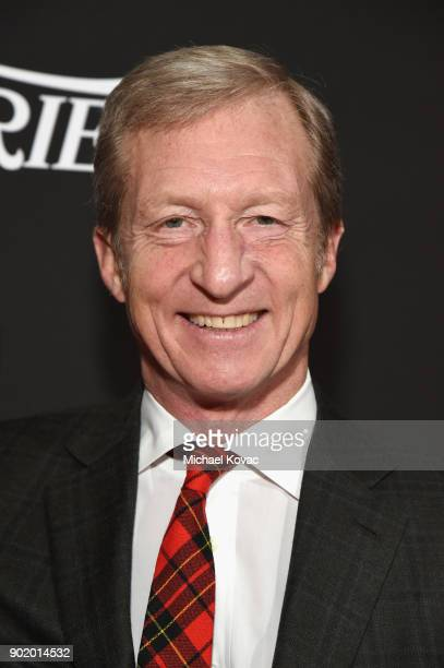 Tom Steyer attends the 7th Annual Sean Penn Friends HAITI RISING Gala benefiting J/P Haitian Relief Organization on January 6 2018 in Hollywood...