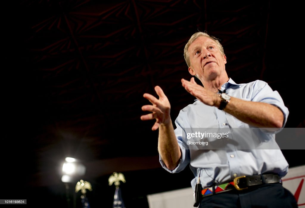 Political Activist Tom Steyer Makes Announcement At 'Need To Impeach' Event