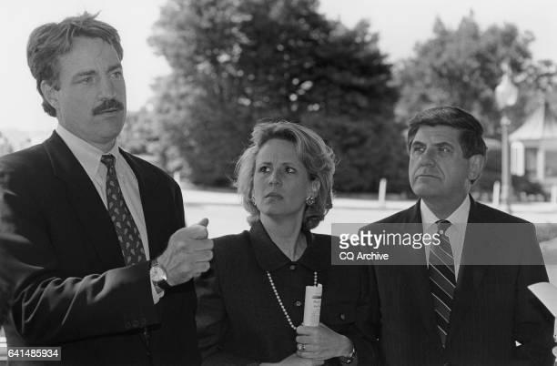 Tom Strickland , Jill Docking and Ben Nelson. September 25, 1996