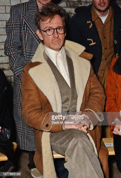 Tom Stubbs attends the Charles Jeffrey LOVERBOY show during London Fashion Week Men's January 2019 at Wapping Hydraulic Power Station on January 5...