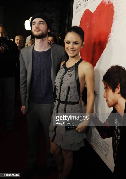 Tom Sturridge and Rachel Bilson attend the 'Waiting for Forever' Movie Premiere at The Grove on February 1 2011 in Los Angeles California