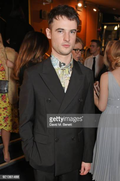 Tom Sturridge attends the Miu Miu Women's Tales Screening at The Curzon Mayfair on February 19 2018 in London England