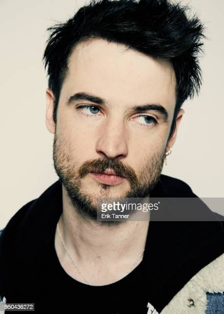 Tom Sturridge of the film Sweet Bitter poses for a portrait during the 2018 Tribeca Film Festival at Spring Studio on April 23 2018 in New York City
