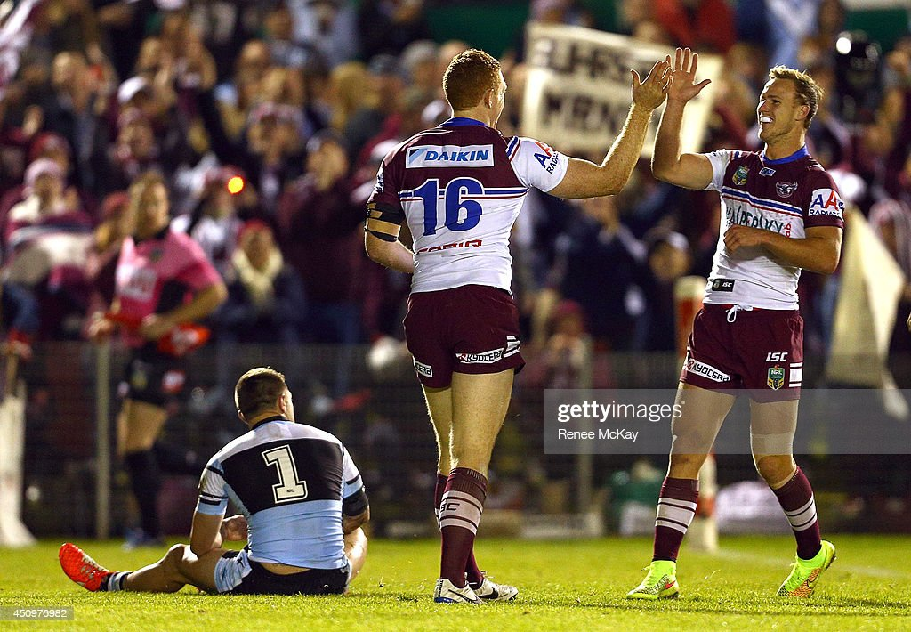 NRL Rd 15 - Sharks v Sea Eagles