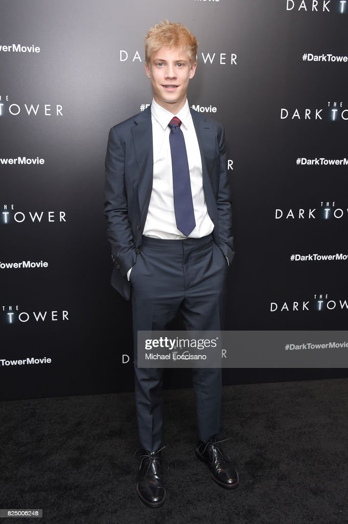 Tom Taylor attends 'The Dark Tower' New York Premiere on July 31, 2017 in New York City.