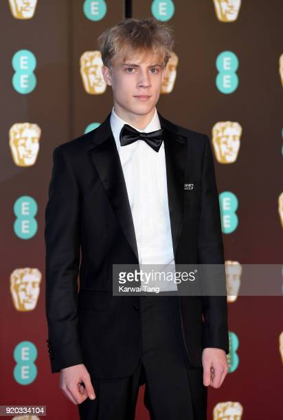 Tom Taylor attends the EE British Academy Film Awards held at the Royal Albert Hall on February 18 2018 in London England