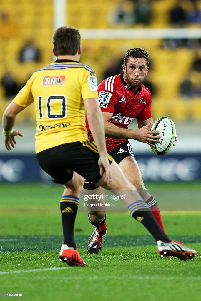 Super Rugby Rd 12 - Hurricanes v Crusaders