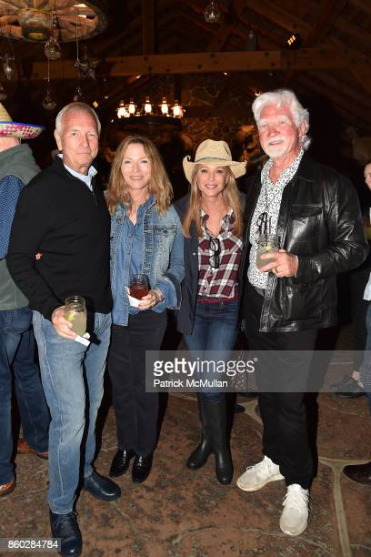 Tom Tellefsen Stephanie Spencer Tawny Sanders and Jerry Sanders attend Hearst Castle Preservation Foundation Annual Benefit Weekend 'Hearst Ranch...