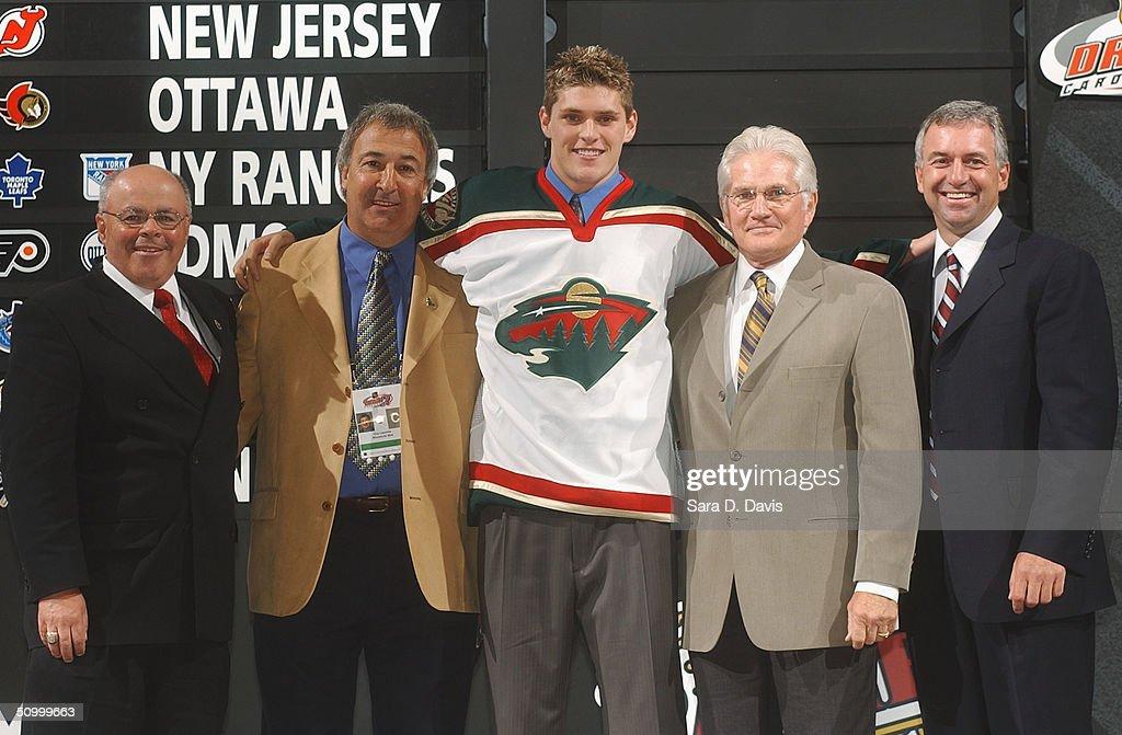 2004 NHL Draft : News Photo